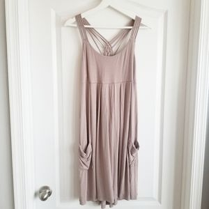 $128 CALVIN KLEIN I Strappy Dress with Pockets
